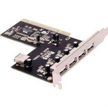 Icidu 4-1p USB 2.0 kaart - (PCI)